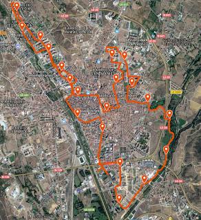 Nuevo Circuito Media Maraton de Leon 2018