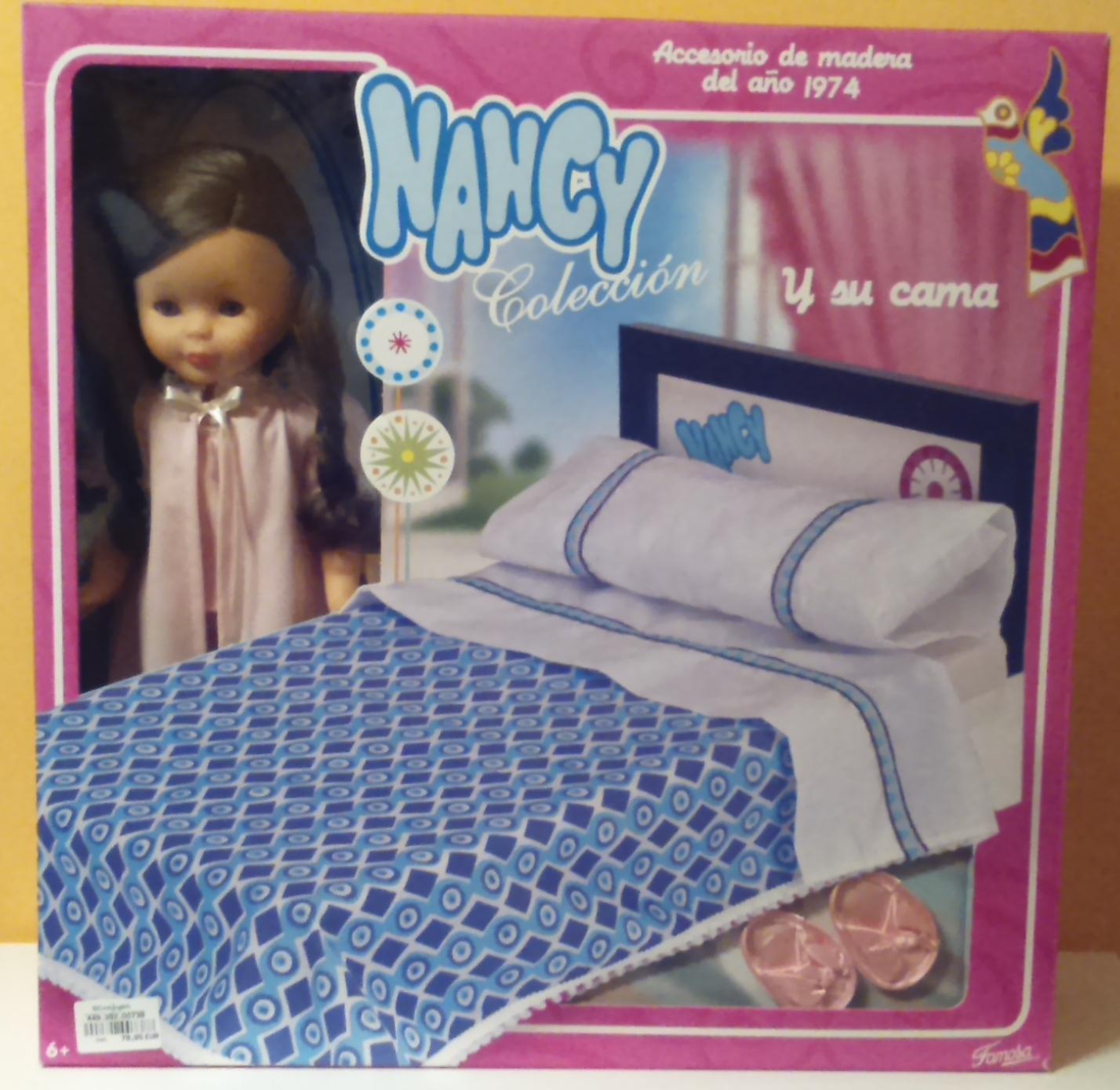 Famosa Nancy Cama Reedicion Nueva Juguetes Nancy Bed Doll Muñecas Modelo