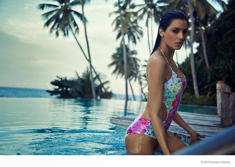 Ingrid Villas Boas  is seductive for the Eve Swimwear 2015 Campaign