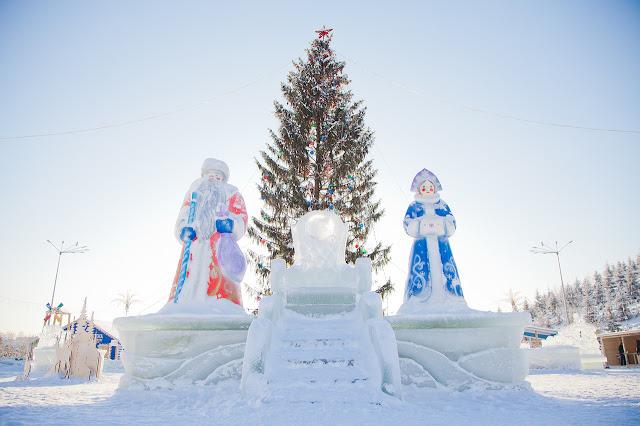 В Уфе к 10 декабря построят 21 ледовый городок