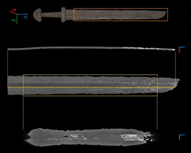 Scans of Viking swords reveal a slice of Norse culture