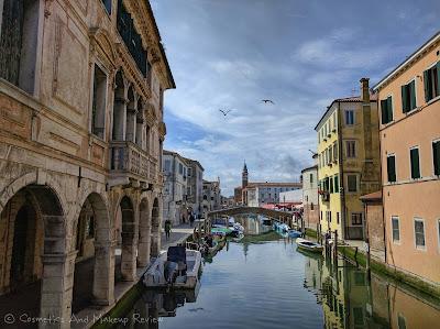 Chioggia (VE) - Canal Vena visto dal Ponte Caneva
