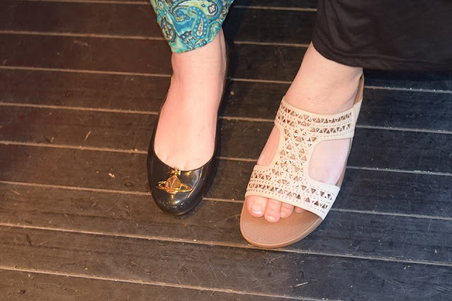vivienne westwood and fitflop shoes at The Hut Summer Event