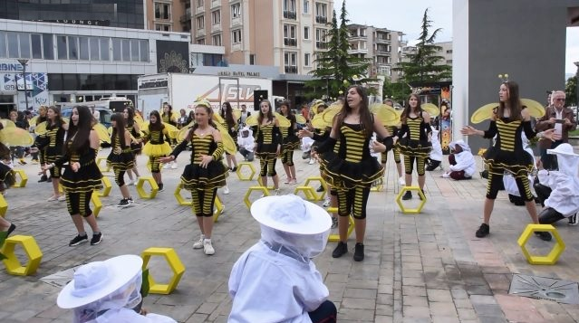 Beekeepers gathered in the Honey Festival in Korça