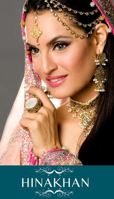 Latest Bridal Makeup Collection 2012 By Hina Khan Fashion Trends