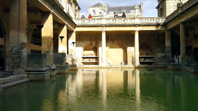 Bath - Visitando le Terme Romane