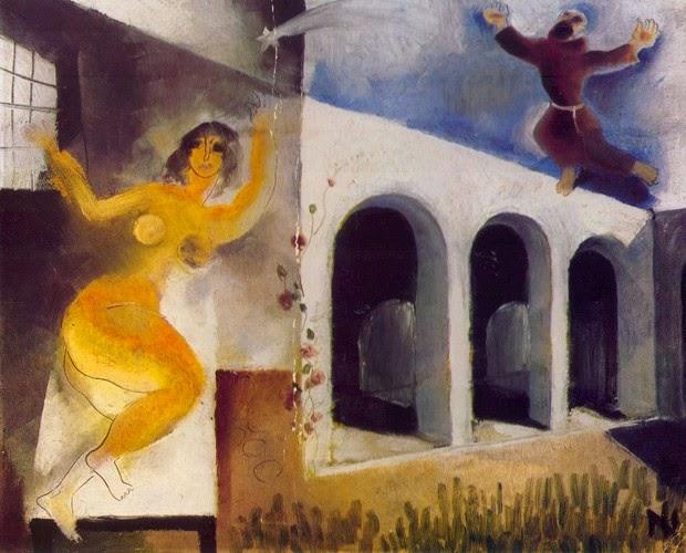 """Anunciação - Ismael Nery e suas pinturas ~ O """"Pintor Maldito"""""""