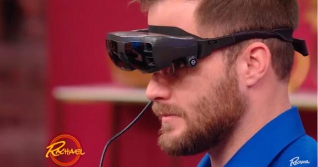 Un hombre ciego logra ver por primera vez a su novia