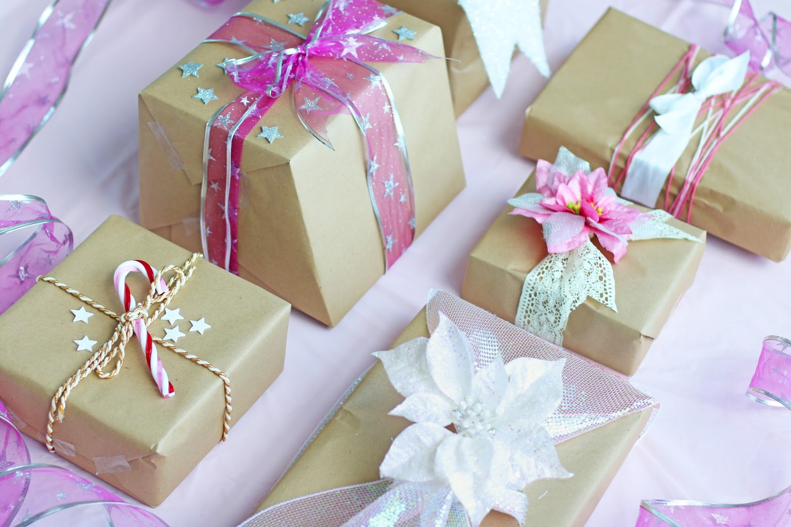Pretty Pink wrapping inspiration