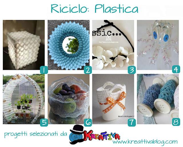 raccolta progetti creativi di riciclo creativo
