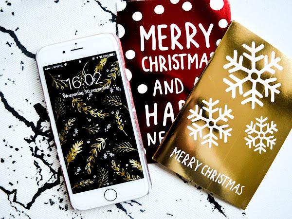 De leukste Kerst/winter achtergronden voor je telefoon