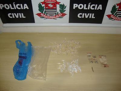 POLÍCIA CIVIL DE REGISTRO-SP PRENDE GERENTE DO TRÁFICO DE DROGAS DA VILA NOVA