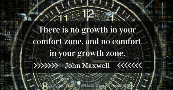The @DavidGeurin Blog: 11 Things to Be Instead of Comfortable