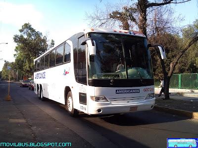 viaggio de autobuses americanos