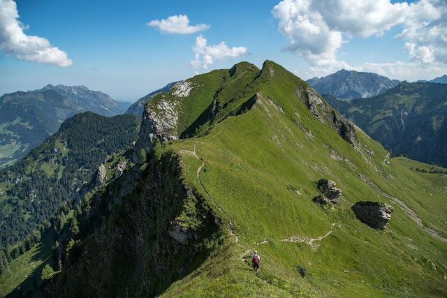 Bergtour Rappenstein von Steg  Wandern Fürstentum Liechtenstein 01