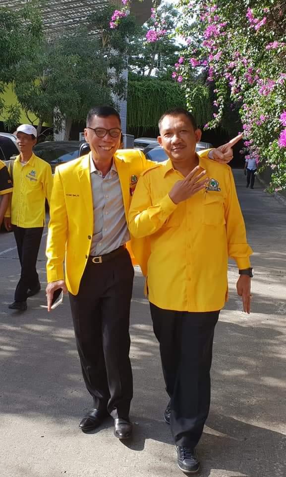 Partai Golkar yakin meraih dua kursi DPRD Provinsi Lampung dari daerah pemilihan (Dapil)VI