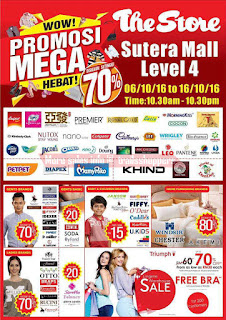 The Store Warehouse Sale Johor 2016