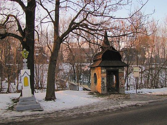 Wejście do Muzeum Jana Kasprowicza.