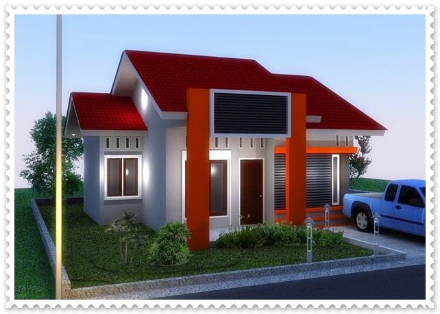 gambar model rumah sederhana tapi indah