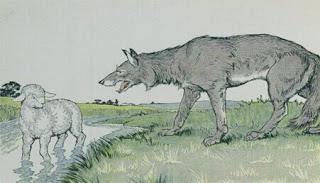 قصص اطفال قصيرة قصة الحمل والذئب
