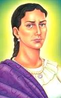 Dibujo de María Parado de Bellido a colores