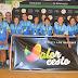 """El mini femenino """"amarillo"""" séptimo de Andalucía. CAB Estepona campeona"""