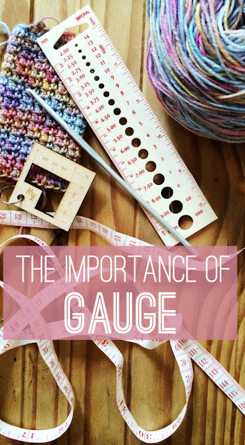 A stitch in time can save (much more than) nine, why  and how you should check your tension/gauge in crochet.