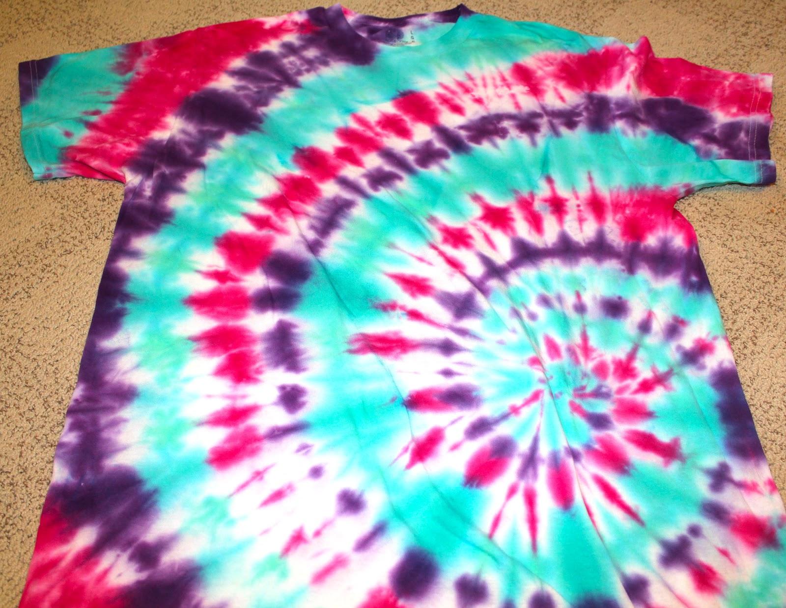 Tie Dye Shirts Diy Crafting
