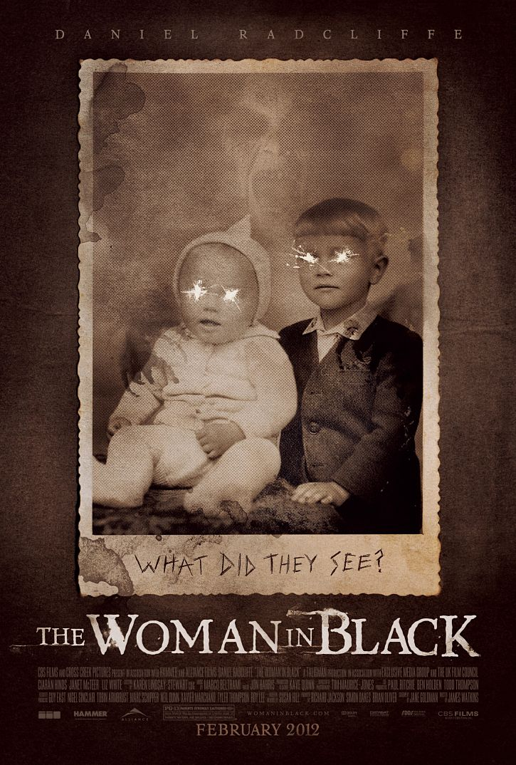 THE WOMAN IN BLACK Review ~ Reviews From A Bed