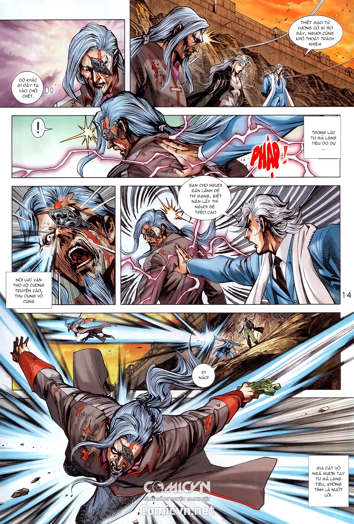Tân Tác Long Hổ Môn Chap 912 - Trang 14