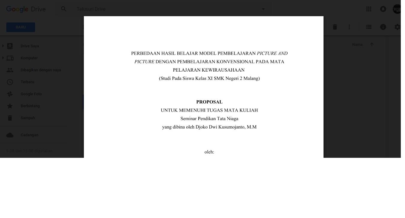 Download Proposal Skripsi Eksperimen (picture and picture ...