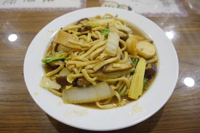 慧萊素食炒麵