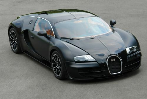 Cars Twine: For Sale: Matte Black Bugatti Veyron Super Sport