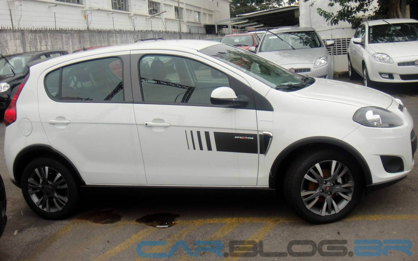 Fiat Palio Sporting Branco Rcs Rds
