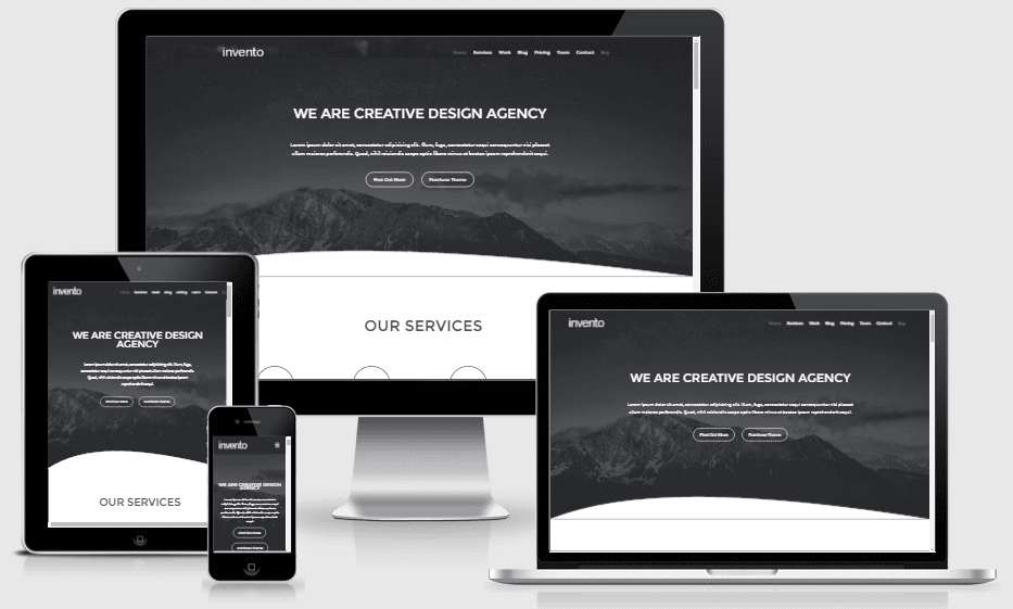 Invento Responsive All-in-one Blogger Theme