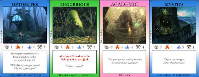 Optomites, Lugubrious, Academic, Mystics