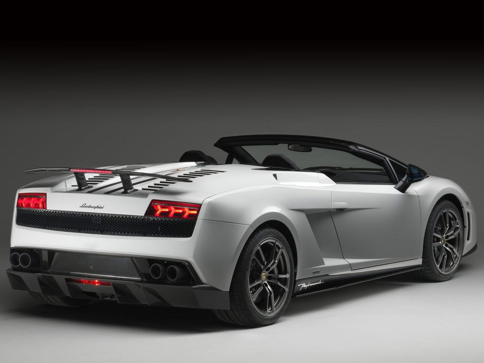2011 Lamborghini Gallardo Lp5704 Spyder Performante