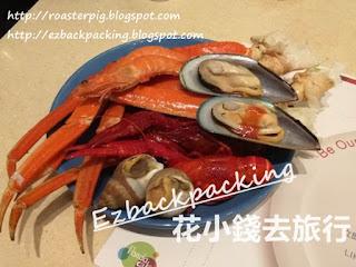 熊貓酒店buffet晚餐