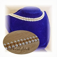 Красивое ожерелье из бисера схема фото 865