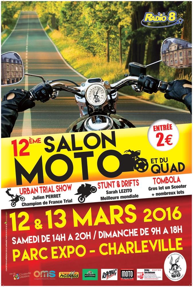 Les fr l s salon de la moto et du quad de charleville - Salon moto charleville ...