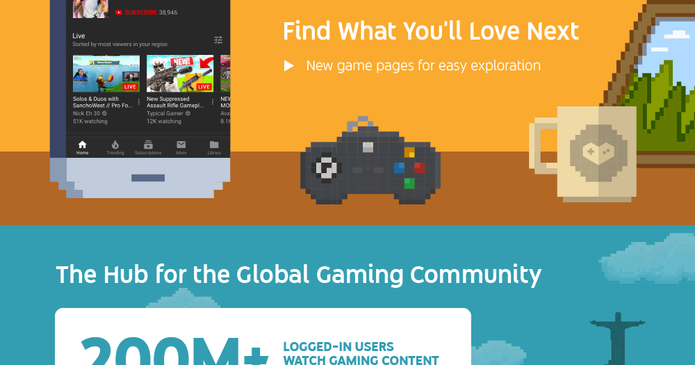 Youtube Creator Blog Gaming Gets A New Home On Youtube