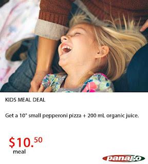 Panago Pizza Menu Prices June 27 – July 31, 2017