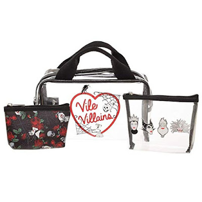 Disney Villains Travel, Makeup Bags
