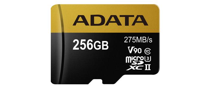 ADATA Premier ONE microSDXC 256GB 製品情報