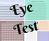 Eye Test To Find Hidden Letters or Numbers in picture puzzles with answers