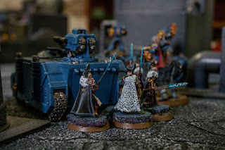 space wolves rhino and squad of sisters of silence
