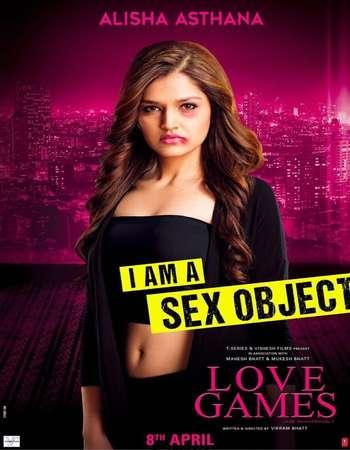 Poster Of Love Games 2016 Hindi 350MB DVDRip 480p ESubs Watch Online Free Download Worldfree4u