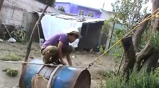 Cómo hacer un Toro Mecánico con un tanque reciclado