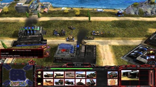 Command and Conquer Generals Rise of The Red Free Download Screenshot 2