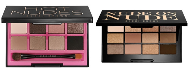 Bobbi Borwn: Hot Nudes Eye Palette,Nude On Nude Palette